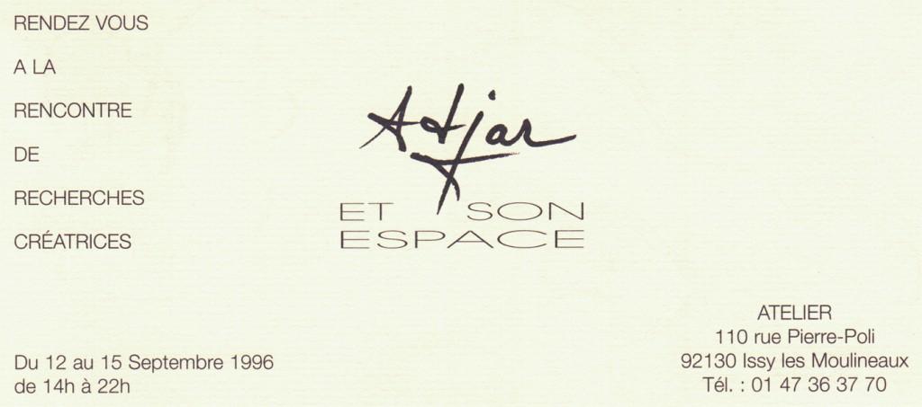 Adjar et son espace