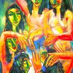 La danse des jeunes filles