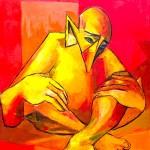 L'homme assis